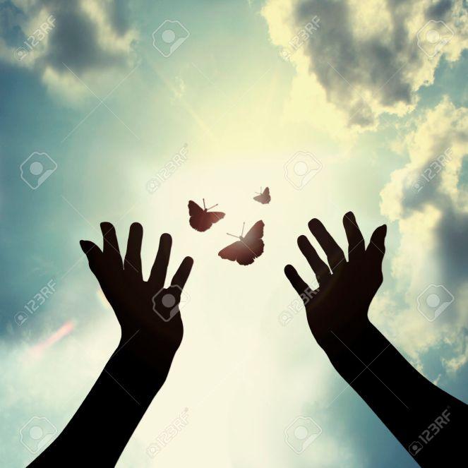 24098146-donnant-un-nouvel-espoir-Banque-d'images